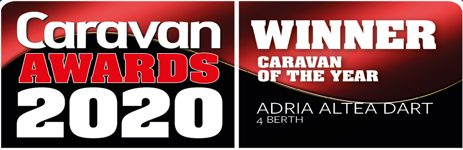 2020 Caravan Awards Adria Winner